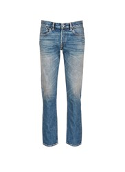 Simon Miller 'Park View' Vintage Medium Wash Slim Jeans Blue