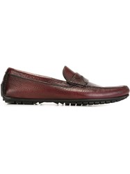 Dolce And Gabbana Penny Loafers Pink And Purple