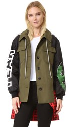 Moschino Coat Multi