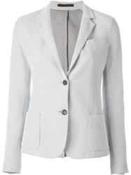 Eleventy Two Button Blazer Grey