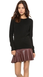 Equipment Sloane Cashmere Crew Neck Sweater Black