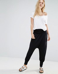 Y.A.S Lily Loose Pant Black