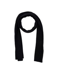 Oblong Scarves Black