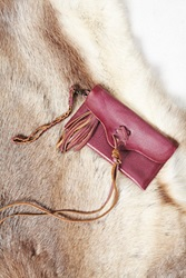 Free People Leather Wrap Wallet