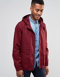 Farah Hooded Jacket Red