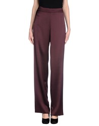 Diana Gallesi Trousers Casual Trousers Women Deep Purple