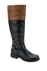 Nature Breeze Vivienne Two Tone Riding Boot Multi