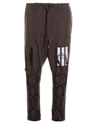 Y 3 Layer Lace Up Trousers Grey