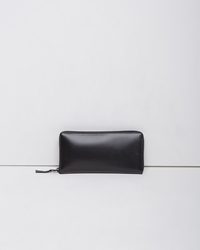 Comme Des Garcons Very Black Long Zip Wallet