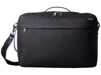 Jack Spade Tech Oxford Convertible Briefpack Charcoal