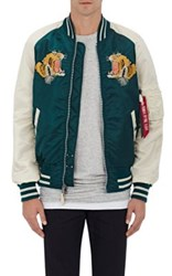 Alpha Industries Men's Ma 1 Reversible Flight Jacket Navy