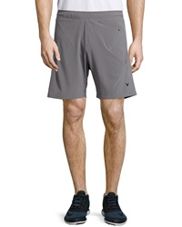 Callaway Mesh Trim Active Shorts Gray