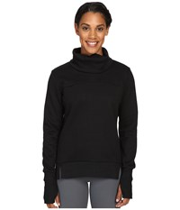 Alo Yoga Haze Long Sleeve Top Black Women's Workout