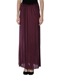 Jucca Skirts Long Skirts Women Deep Purple