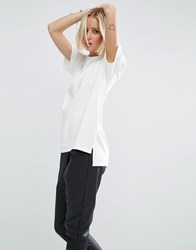 Uncivilised Willow Jersey Top Marble Grey