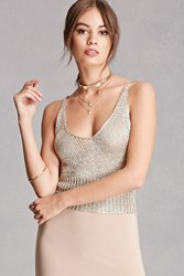 Forever 21 Open Knit Cami Top