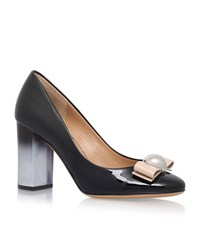 Salvatore Ferragamo Fiammetta 85 Court Shoes Female Black