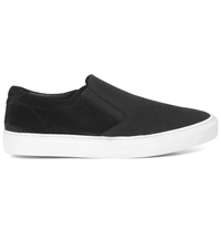 Garment Project Classic Slip Ons Black Black Suede Huh. Store