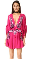 Free People Pretty Pineapple Dress Pink