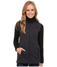 The North Face Indi Insulated Hoodie Tnf Black Heather Tnf Black Women's Coat