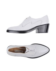 Sartore Footwear Lace Up Shoes Women White