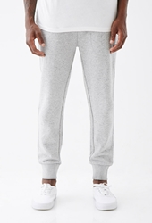 Forever 21 Speckled Zip Pocket Sweatpants Grey