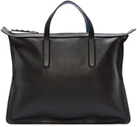 Jimmy Choo Black Leather Gable Tote