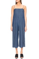 The Fifth Label Women's 'Let's Dance' Crop Chambray Jumpsuit
