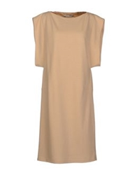 Veronique Branquinho Knee Length Dresses Sand