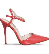 Office Archway Patent Heeled Courts Coral Patent