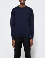 S.N.S. Herning Intro Crewneck Blue Brain