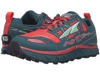 Altra Footwear Lone Peak 3 Red Deep Sea Women's Shoes Blue