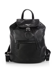Prada Soft Calf One Pocket Backpack Nero Black