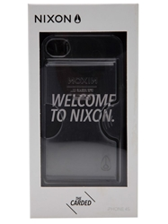 Nixon 'Carded' Iphone 4S Case White