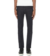 Hugo Boss Extra Slim Fit Tapered Jeans Navy