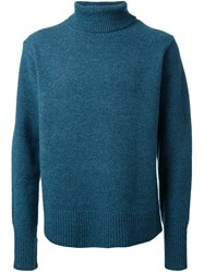 Cityshop Turtleneck Jumper Green
