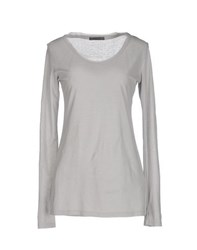 Siviglia Topwear T Shirts Women Light Grey