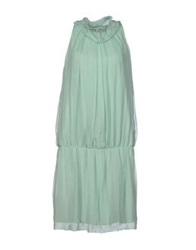 La Fee Maraboutee Short Dresses Light Green