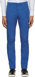 Band Of Outsiders Cobalt Blue Classic Chinos