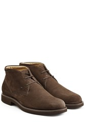 Tod's Tods Suede Desert Boots Brown