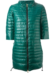 Duvetica Long Padded Jacket Green