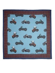 Marc By Marc Jacobs Motorcycle Print Bandana Scarf
