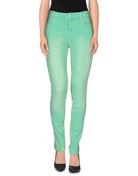 Love Moschino Denim Pants Green
