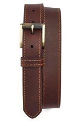 1901 Leather Belt Gray