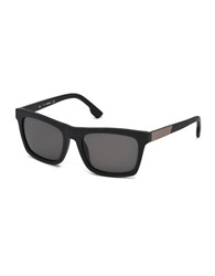 Diesel Square 54Mm Sunglasses Black