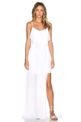 Bcbgeneration Woven Evening Dress White