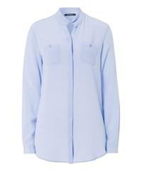 Olsen Long Sleeve Shirt Blue
