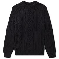 Polo Ralph Lauren Chunky Cable Crew Knit Black