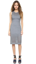 Clover Canyon Laser Dress Grey White
