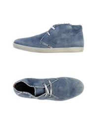 Gio' Moretti Ankle Boots Sky Blue